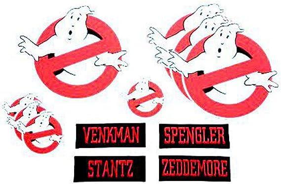 losparches Parche textil PACK CAZAFANTASMAS Ghostbusters 12unid ...