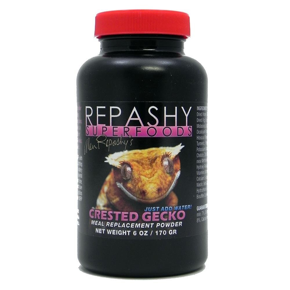 REPASHY CRESTED GECKO MRP - Alimento sostitutivo in polvere per tutti i gechi frugivori o integratore per altre specie (170)