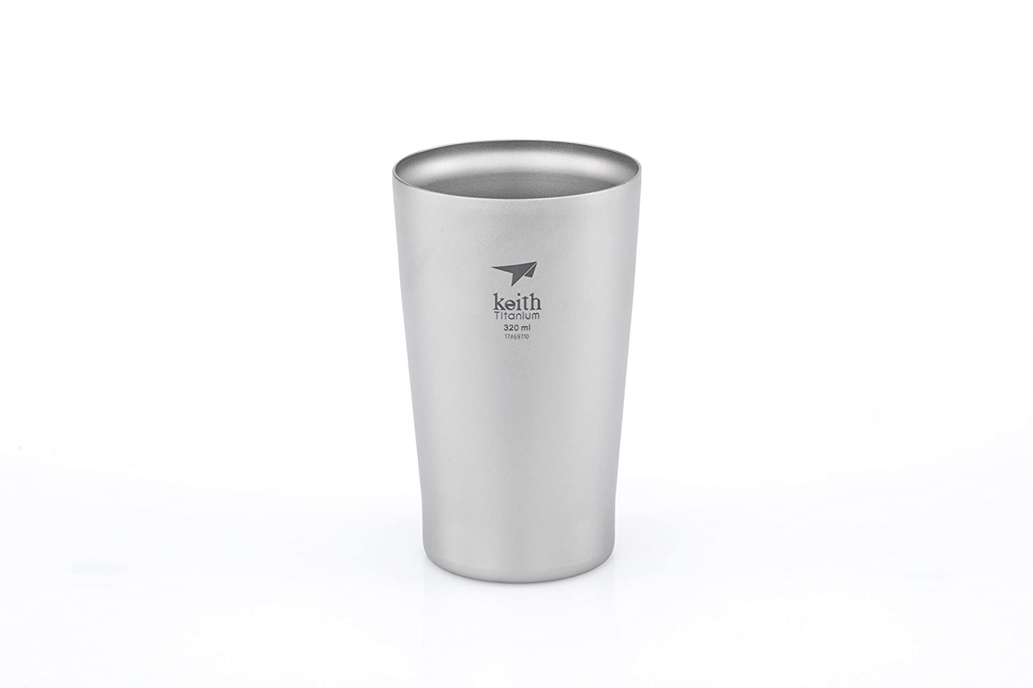 Keithチタンti9221 double-wall Beer Cup – 10.8 FL OZ   B0719QSNWZ