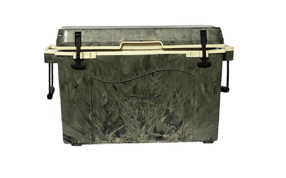 Taiga Coolers Leak Proof 55 Quart Woodland Camo Cooler with R5 Insulation by Taiga Coolers