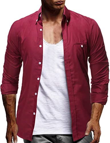 Sylar Camisas De Hombre Manga Larga Camisa De Vestir para ...