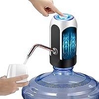 Dispensador de Agua Automático, Despachador de Agua Electrico Incorporado de Doble Parachoques, Bomba de Agua Potable...
