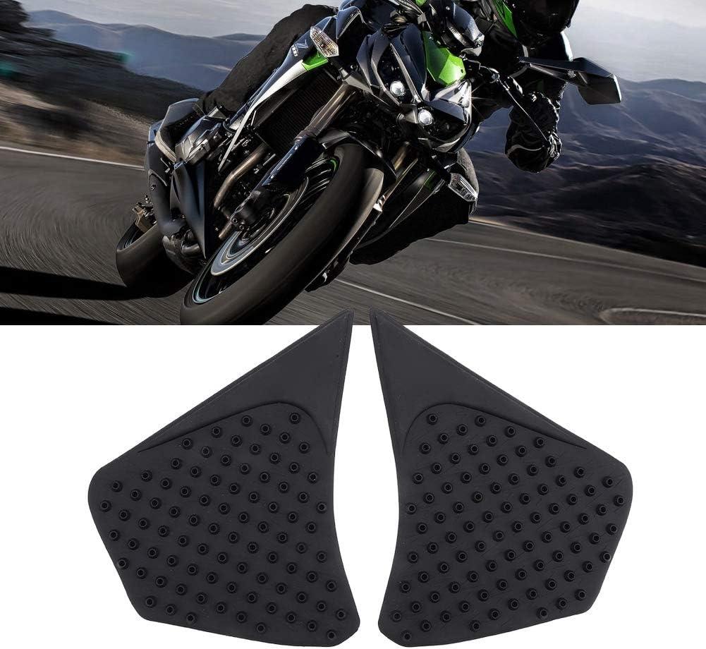 Gorgeri Motorcycle Side Tank Pad,Silica gel Anti-Slip Tank Traction Grip Protector for K awasaki Z1000 14-16
