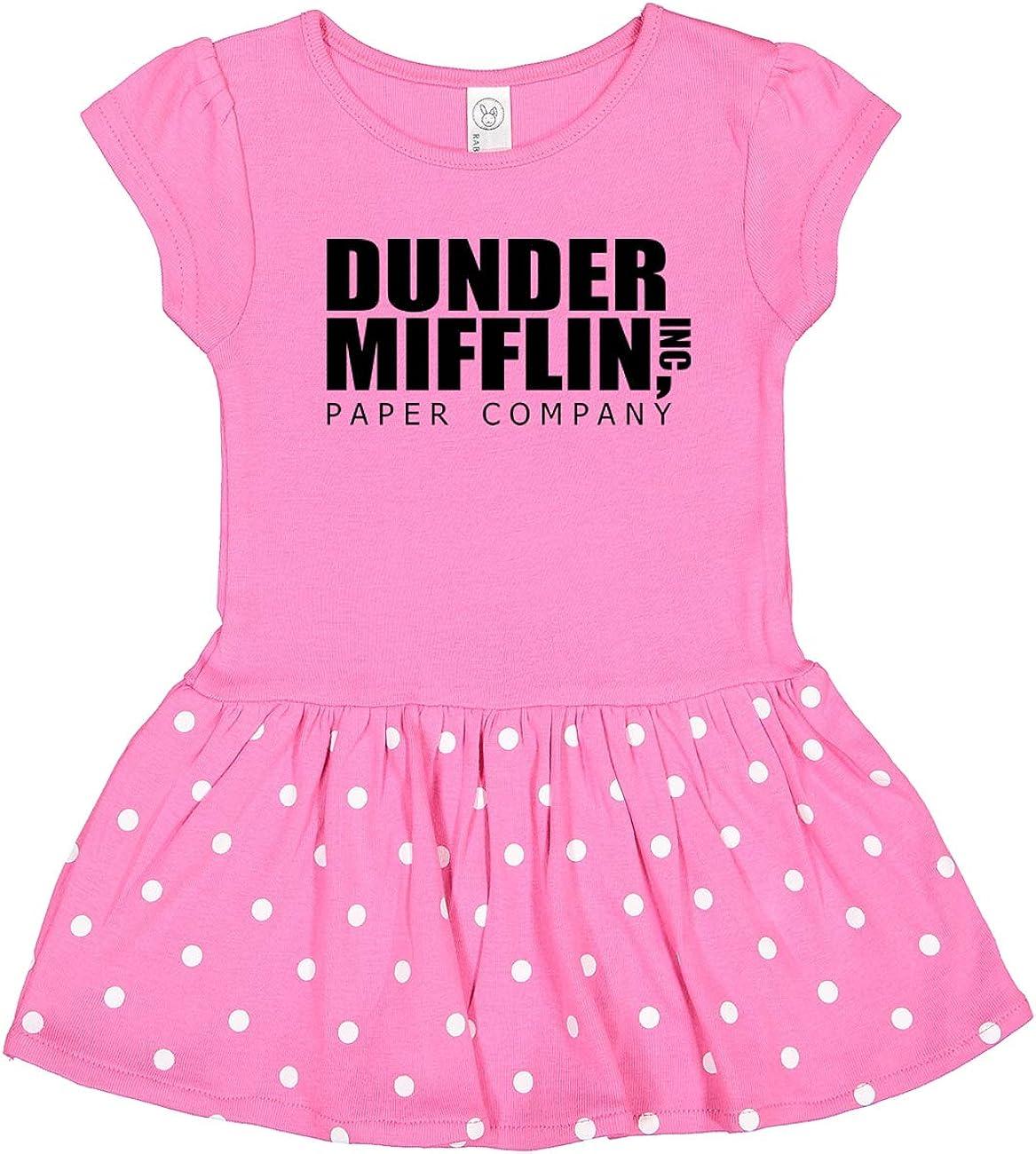 NorthStarTees The Office Dunder Mifflin Baby Rib Dress Onesie