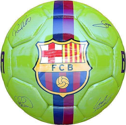 JOSMA SPORT Balón Grande F.C. Barcelona Away 18/19 Verde: Amazon ...