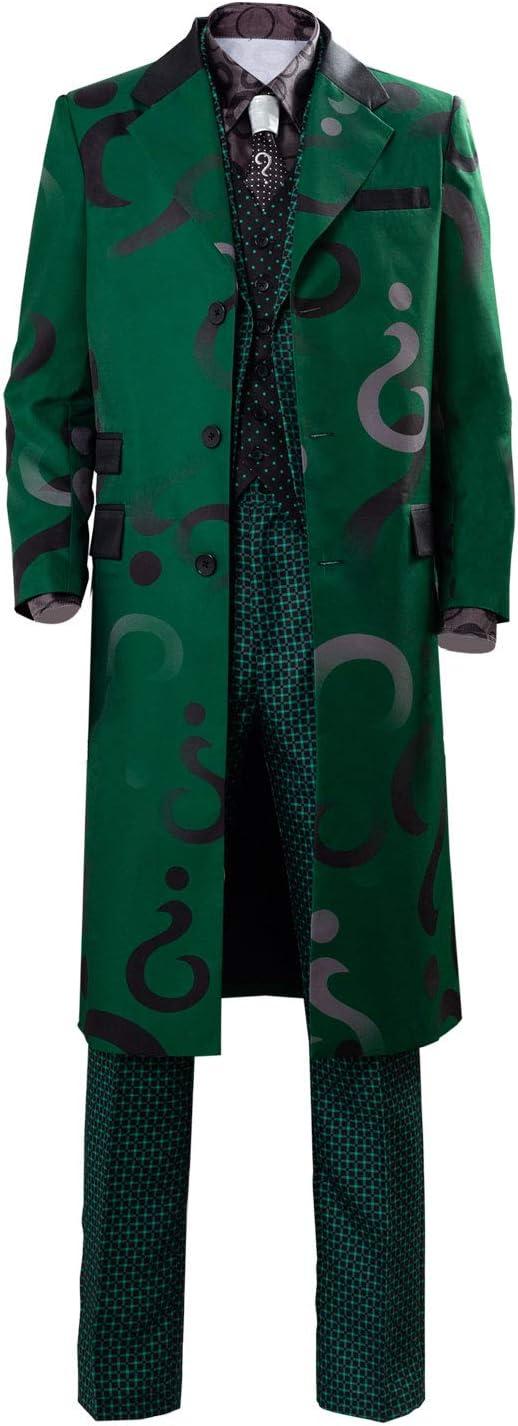 Gotham Season 5 The Riddler Edward Nygma Uniforme Verde Traje de ...