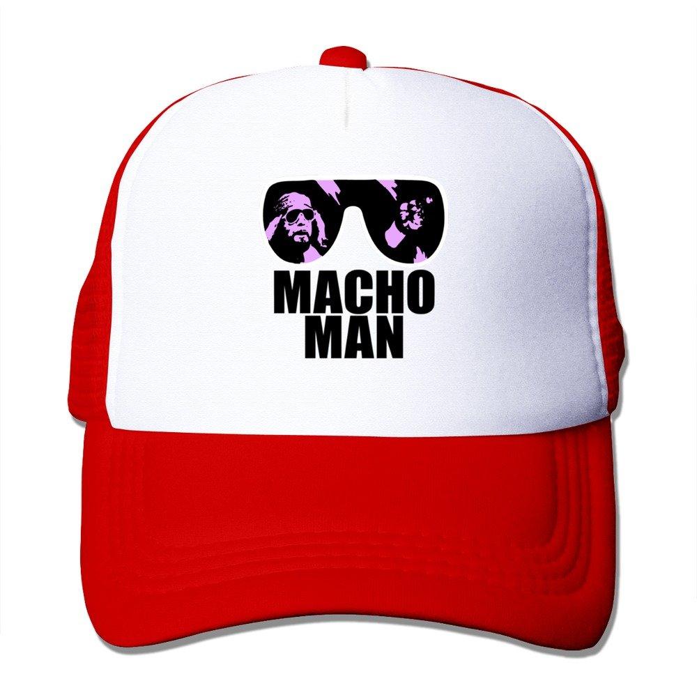 f5a3f1ccdca5a Red Macho Man Randy Savage Macho America Snapback Caps Dad Hats  Amazon.ca   Clothing   Accessories