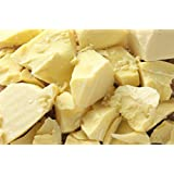 1 Lb Ecuadorian Cocoa (Cacao) Butter - Pure, Raw and Unprocessed - Use for Lotion, Cream, Lip Balm, Oil Stick or Body Butter - NON-GMO, Vegan and Halal
