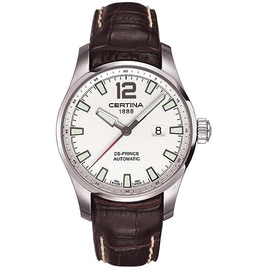 CERTINA DS PRINCE RELOJ DE HOMBRE AUTOMÁTICO C008.426.16.037.00: Amazon.es: Relojes
