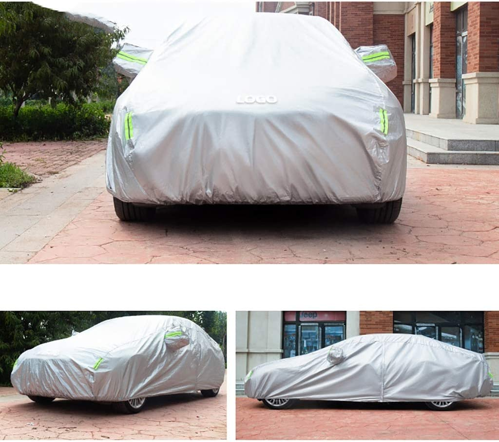 Color : A, Size : 2018 SLC 300 Car Cover,Compatible with Car Cover Mercedes-Benz Class SLC,Polyester Taffeta 4-Layer Composite Material,All Weather Protection