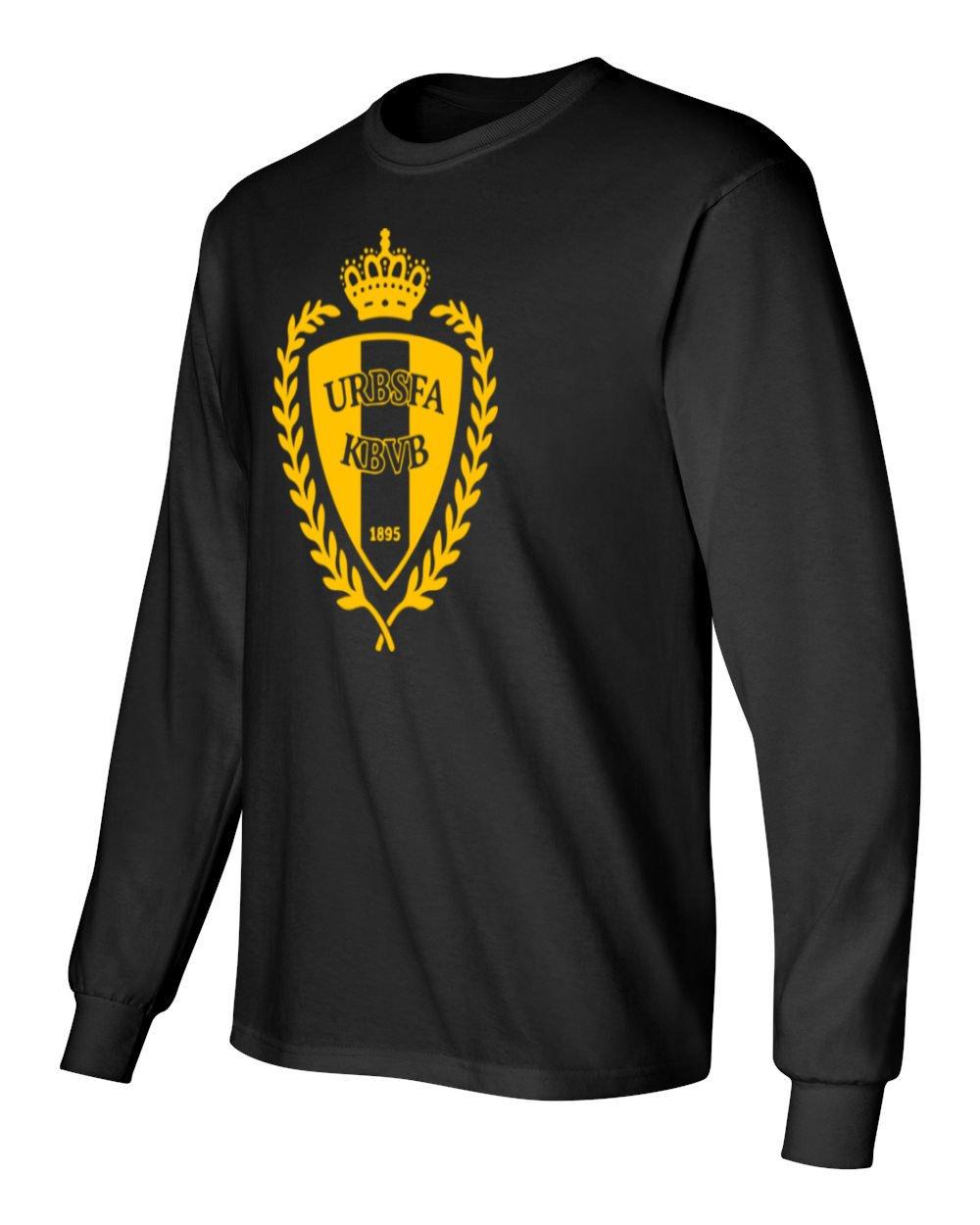 dc36338df28 Amazon.com  Tcamp Belgium 2018 National Soccer  10 Eden HAZARD World  Championship Men s Long Sleeve T-Shirt  Sports   Outdoors