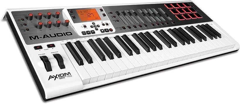 M-AUDIO Axiom AIR 49 - Teclado MIDI (USB, 55,9 cm, 38,1 cm, 10,2 cm, DC)