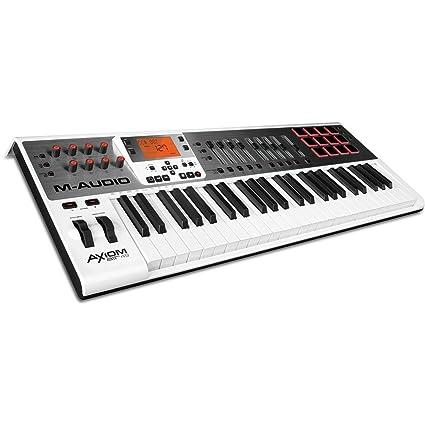 amazon com m audio axiom air 49 49 key usb midi keyboard controller rh amazon com M-Audio Keystation 61 M-Audio Keystation 61
