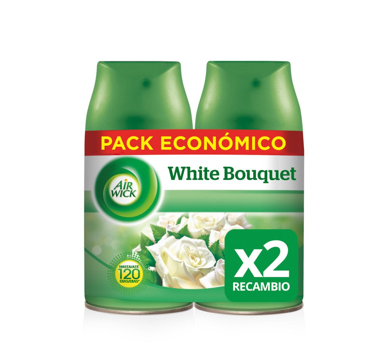 AirWick Ambientador Freshmatic Max Recambio Duplo White Bouquet: Amazon.es: Amazon Pantry