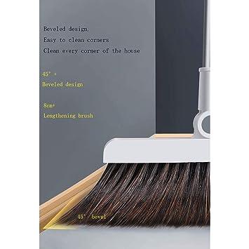 Escobas Conjunto hogar Combinación de limpiaparabrisas Cuarto de baño Barrido Individual Artefacto Antiadherente (Tamaño :