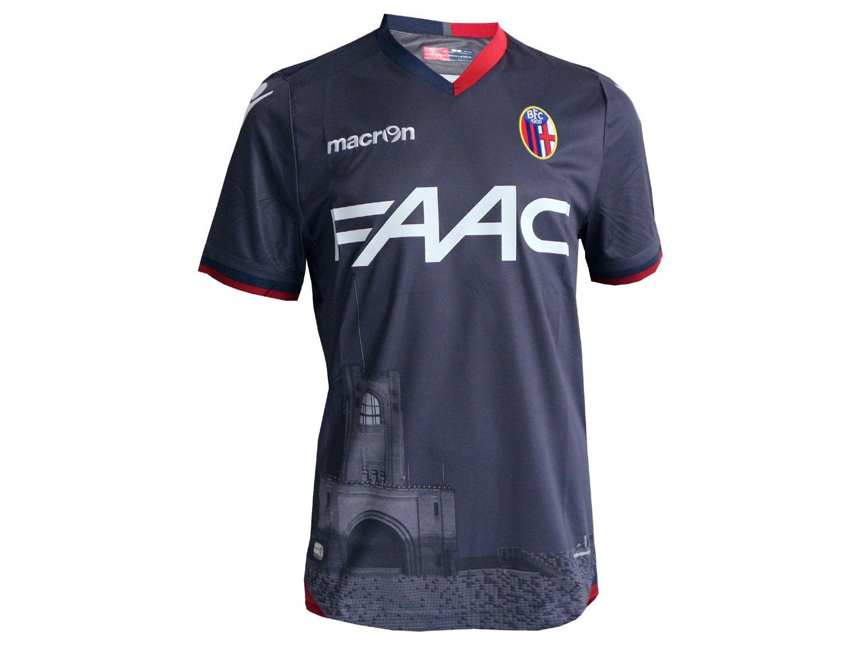 Macron FC Bologna 3rd Fútbol Jersey M16 Jugador BFC-G ...