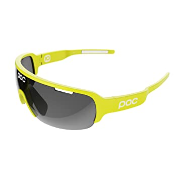 POC DO Half Blade Sunglasses - Sonnenbrillen - Freizeit Unobtanium Yellow One Size Q5gZL25M