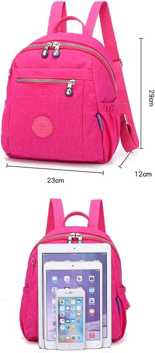 Fresh and Simple Nine Colors Travel School Work Latest Models Muziwenju The Girls Versatile Backpack is Perfect for Everyday Travel Outdoor Fashion and Leisure