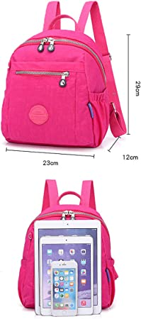 Six Colors Outdoor Muziwenju The Girls Versatile Backpack is Perfect for Everyday Travel School Fresh and Simple Travel Fashion and Leisure Work Latest Models