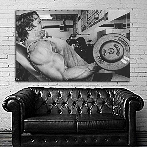 Poster Mural Arnold Schwarzenegger Muscle Fitness Body Builder cm Adhesive Vinyl #26