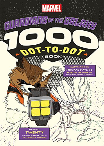 Marvel: Guardians of the Galaxy 1000 Dot-to-Dot Book