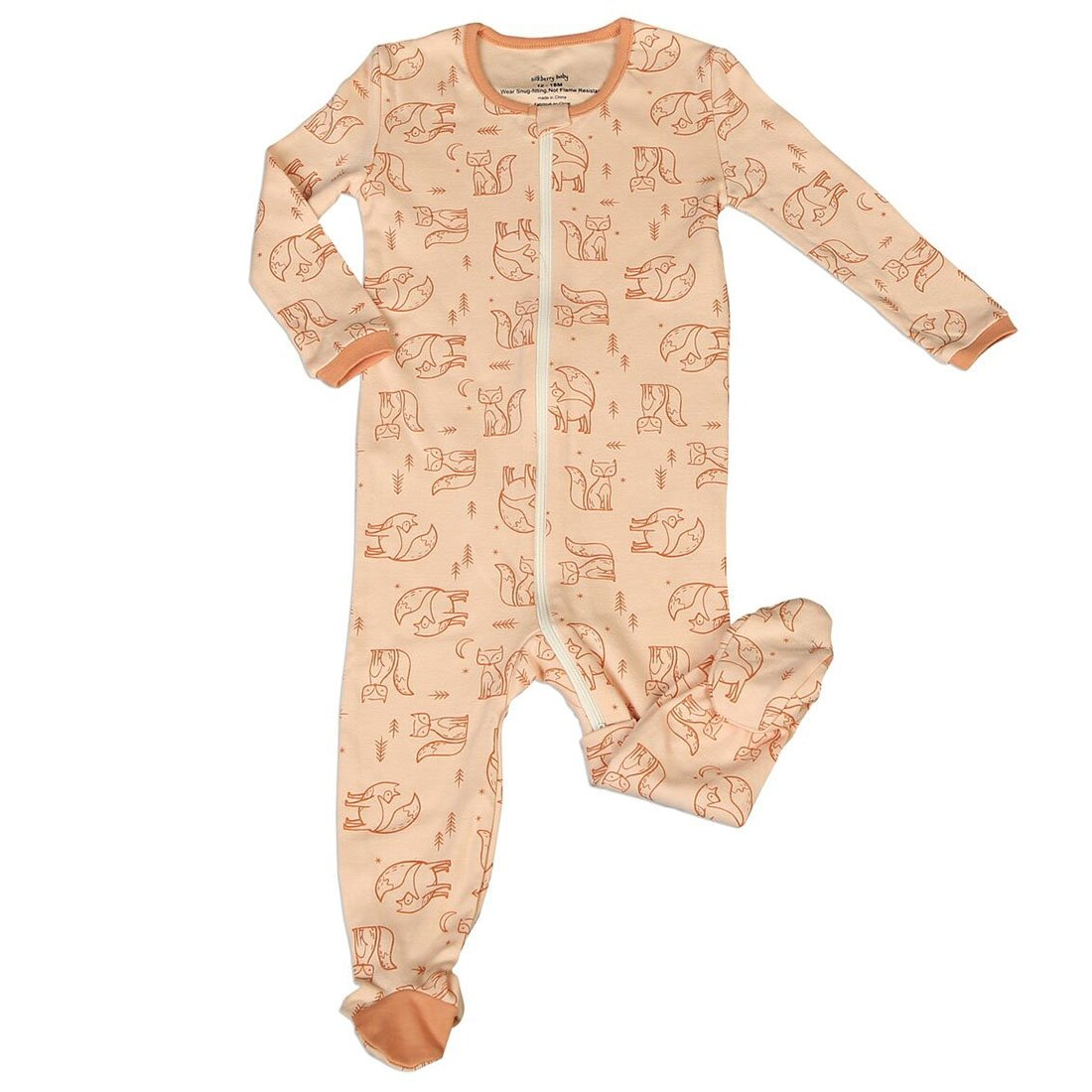 100 %品質保証 Silkberry Baby SLEEPWEAR ベビーボーイズ B07FTFTQMX SLEEPWEAR Months Peach Fox Fox 0 - 3 Months 0 - 3 Months|Peach Fox, Giyaman Jewellery:6f316e22 --- arianechie.dominiotemporario.com