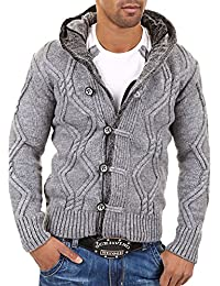 Men's Cardigan Sweater Jumper 7013