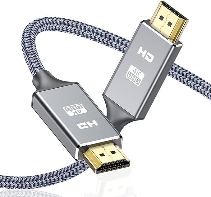 Cable HDMI 4K 2 Metros, 2.0 Cable HDMI de Alta Velocidad soporta ...