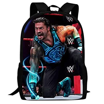 KLHGIOUI Ro-Man R-eigns Stylish Kid's Travel Outdoor Backpack Durable Multi-Function School Bag Purse Schoolbag: Clothing