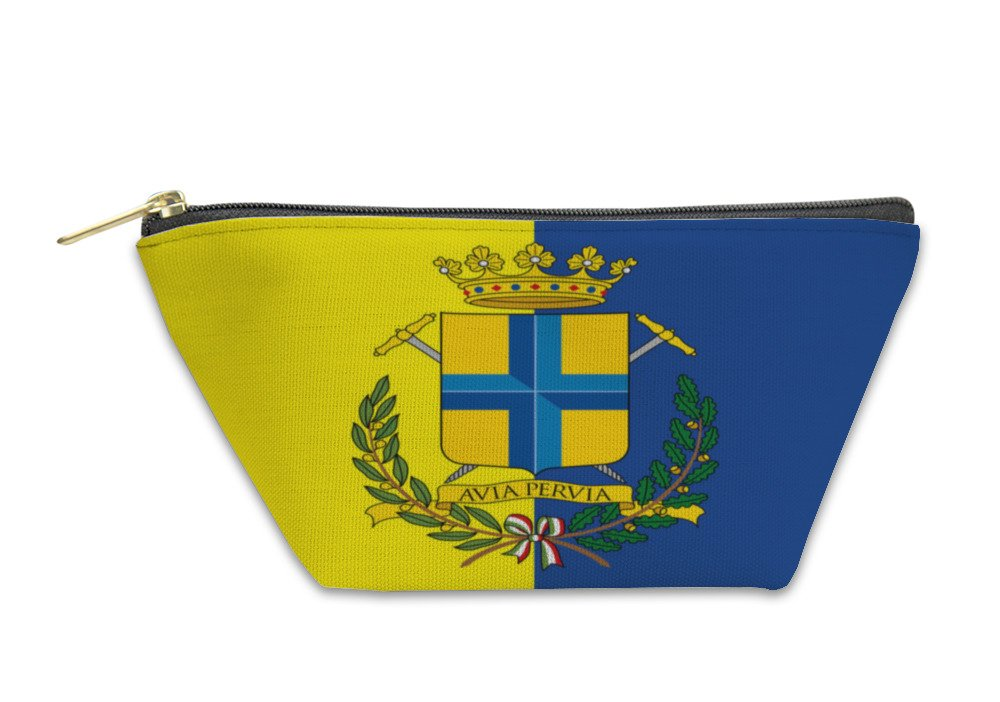 Gear New Accessory Zipper Pouch, City Of Modena Italy Coat Of Arms And Flag, Small, 6006289GN