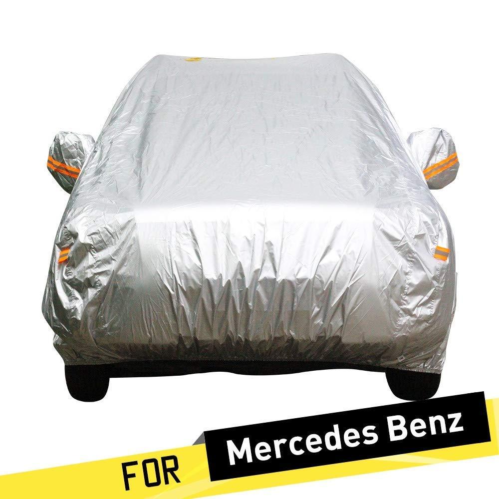 カーカバー防水カーカバークーペセダンワゴンサンレインスノープロテクションカバー (Color : For Benz E430)  For Benz E430 B07TDW4DYF