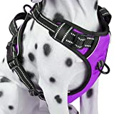 PoyPet No Pull Dog Harness, Reflective Vest Harness With Front & Back 2