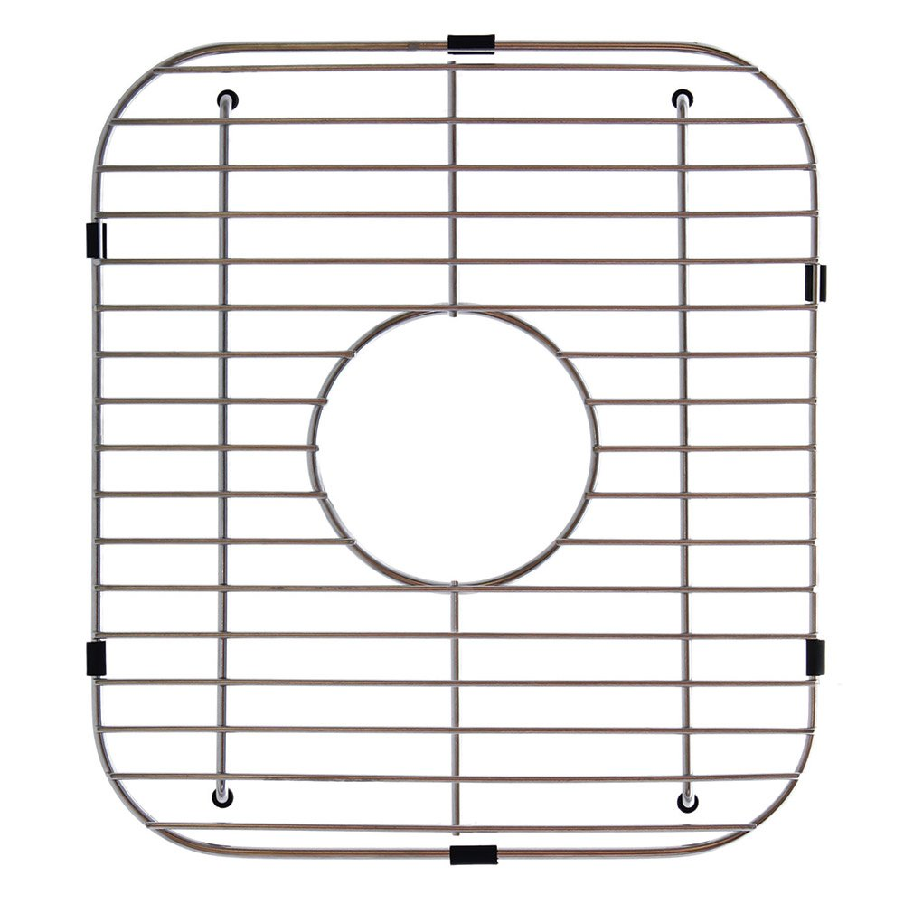 Kindred Essentials Series 13.1-inch x 11.6-inch Universal Kitchen Sink Bottom Protection Grid in Stainless Steel, KDG50 by Kindred