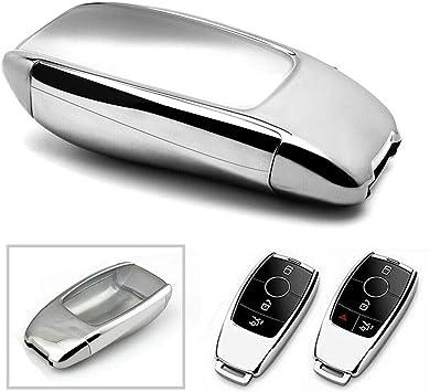 1X TPU Black key case full sealed protection for MERCEDES-BENZ W213 E-CLASS E300
