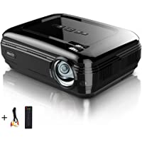 PRAVETTE P-58BK HD 3200-Lumens LED Portable Projector