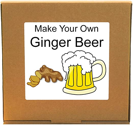 Kit para hacer cerveza de jengibre, haz tu propia cerveza de jengibre: Amazon.es: Hogar