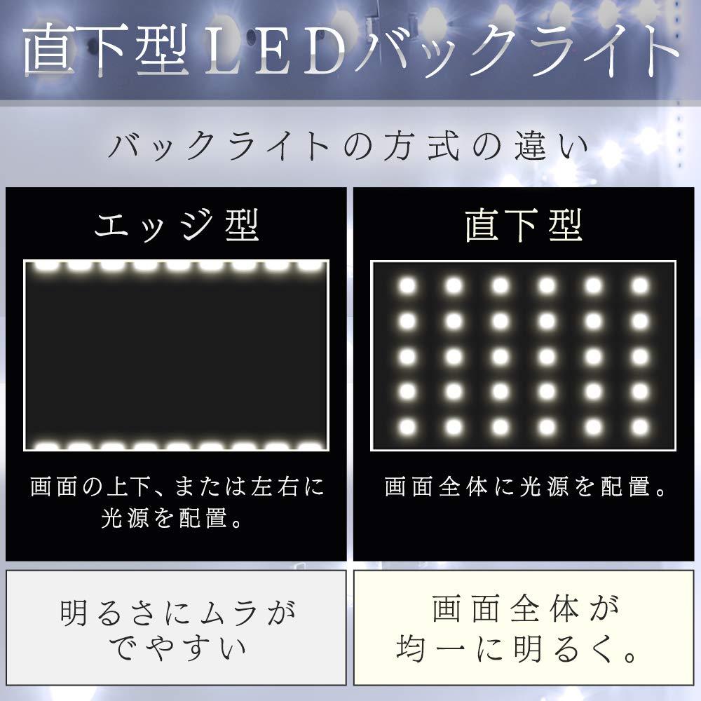 液晶テレビ LEDバックライト