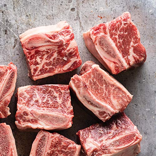 Omaha Steaks 1 (2 lbs. pkg.) Bone-In Beef Short Ribs Country Style Pork Ribs