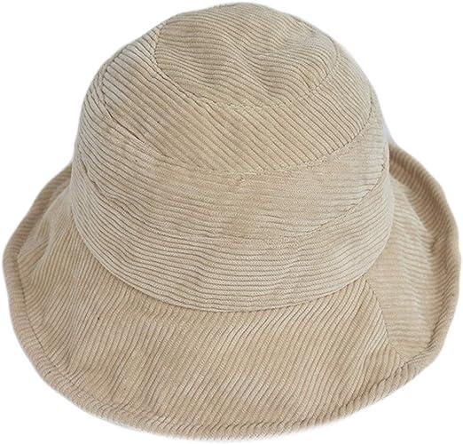 RROVE Caja de Regalo Sombrero de Pescador de Terciopelo de Pana ...
