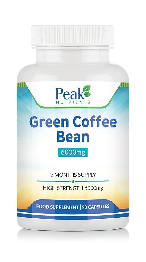 100 chicchi di caffè verde puro uk