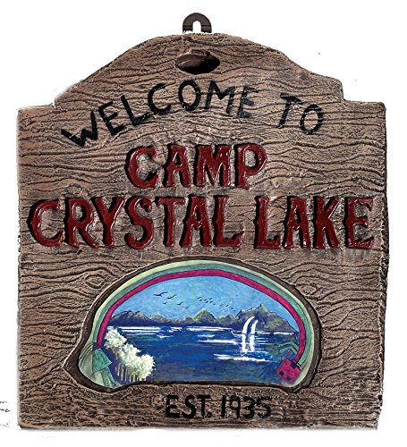 794 Camp Crystal Lake Sign