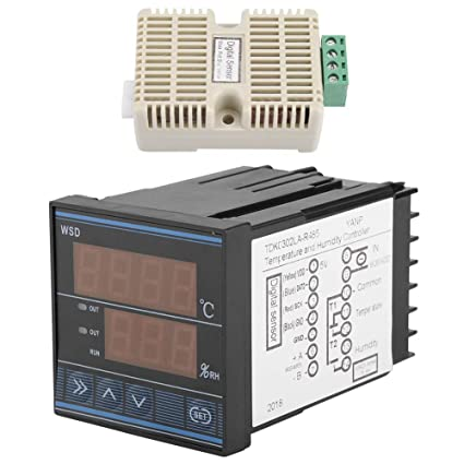 Termostato Controlador De Temperatura LED Digital -40 a 60 Grados Interruptor De Control De Temperatura