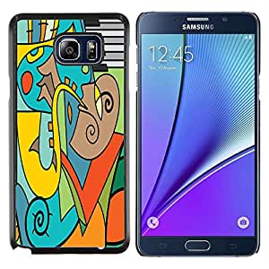 Dragon Case - FOR Samsung Note 5 N9200 N920 - there are always miracles - Caja protectora de pl??stico duro de la cubierta Dise?¡Ào Slim Fit