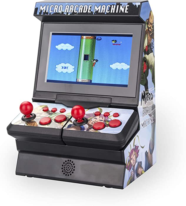 Im Game Mini Arcade Game Machine, Handheld Game Console, 4.3 inch Screen, Dual Wireless Controls, 300 Games, Retro Game Console, One or Two Players.