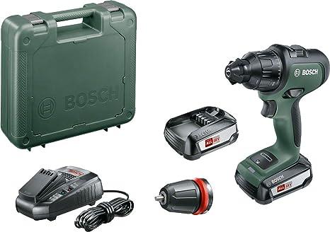 Bosch - Atornillador combinado a batería AdvancedImpact 18 (2 baterías, sistema de 18 V, en estuche)