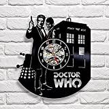 Cheap Doctor Who Art Vinyl Wall Clock Gift Room Modern Home Record Vintage Decoration
