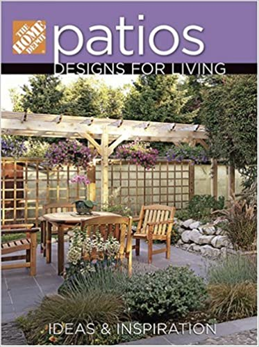 Patios Designs for Living: The Home Depot: 9780696232466: Amazon ...