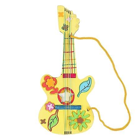 LAOSI Dibujo Infantil Pintada en Blanco de Madera Kinder Bricolaje ...