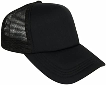 Buy Bolax Black Back Side Net Baseball Cap Online at Low Prices in India -  Amazon.in 8b0920646df
