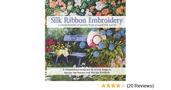 Silk Ribbon Embroidery - a collaboration of artists from
